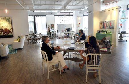 coworking space: munkahely helyett